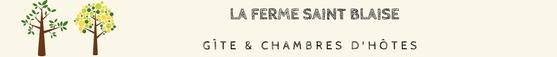Gîte rural  & Chambres d'hôtes de charme en Normandie La Ferme Saint Blaise